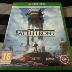 Joc Star Wars Battlefront XBOX One, original, alte sute de jocuri! - Jocuri Xbox One, Actiune, 18+, Single player