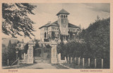 BUSTENI , CASTELUL CANTACUZINO , CIRCULATA 1939, Printata
