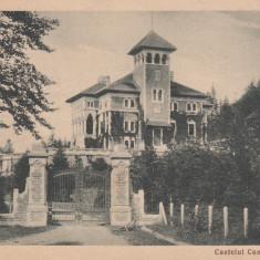BUSTENI, CASTELUL CANTACUZINO, CIRCULATA 1939 - Carte Postala Muntenia dupa 1918, Printata