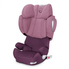 Scaun Auto Solution Q 2 Fix Plus 15-36 kg Princess Pink - Scaun auto copii Cybex, 2-3 (15-36 kg)
