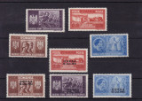 ROMANIA  1941 LP 146 I  LP 146 III  FRATIA DE ARME ROMANO-GERMANA SERII  MNH, Nestampilat