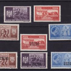ROMANIA 1941, LP 146 I, LP 146 II, FRATIA DE ARME ROMANO-GERMANA, MNH - Timbre Romania, Nestampilat