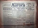 ZIAR VECHI - AURORA - 18 SEPTEMBRIE 1925