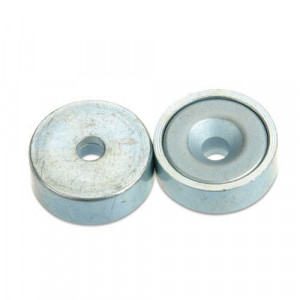 Magnet neodim puternic oala diametru 20 mm neodymium