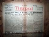ZIAR VECHI   - TIMPUL  -  23 NOIEMBRIE  1946