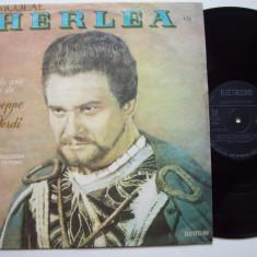 Disc vinil NICOLAE HERLEA - Recital de arii din opere de Verdi (ST - ECE 0794) - Muzica Opera electrecord