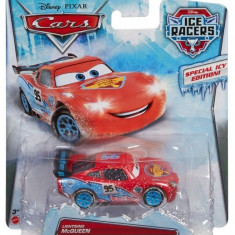 Masinuta Mattel Fulger McQueen Cars Ice Racers