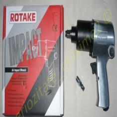 Pistol pneumatic de impact auto ROTAKE - 700Nm bormasina aer comprimat - Cheie pistol pneumatic Service