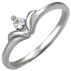 Inel de logodnă cu coroană regală