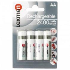 SET DE 4 ACUMULATORI R6 - Baterie Aparat foto, Tip AA (R6)