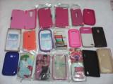 LOT MARE ACCESORII TELEFOANE HUSE CARCASE 4 POZE, Alt model telefon Samsung, Portocaliu, Carcasa