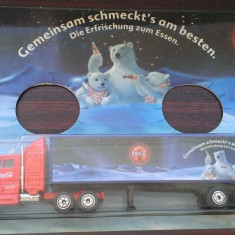 Camion Coca Cola - model Ursi Polari, 1/87, Germania (tip 003)