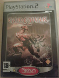 Vand jocuri ps2,GOD OF WAR 1 ,ca nou,playstation 2, PAL,engleza, Strategie, 18+, Single player, Thq