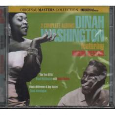 Dinah Washington brook benton cd disc muzica blues jazz editie vest sigilat nou