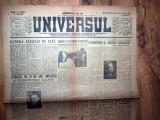 ZIAR VECHI  - UNIVERSUL - 21 NOIEMBRIE 1945