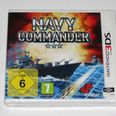 Joc consola Nintendo 3DS - Navy Commander - nou - sigilat - Jocuri Nintendo 3DS, Actiune, Toate varstele, Single player