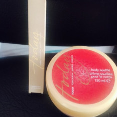 SET CREMA DE CORP PARFUMATA SI MINI PARFUM TODAY -PRET PE SET - Set parfum