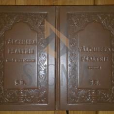 EFTIMIE ZIGADINUL - TALCUIREA PSALTIRII A PROOROCULUI SI IMPARATULUI DAVID, DOUA TOMURI - Carti Istoria bisericii