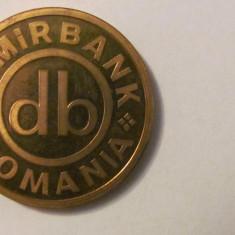 "MMM - Medalie Romania ""DEMIRBANK Sucursala Bacau / 24 septembrie 1999"""