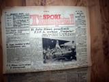 ZIAR VECHI   - TIMPUL SPORT -  20 IUNIE 1938