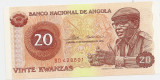 ANGOLA 20 KWANZAS 1976 UNC