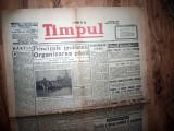 ZIAR VECHI   - TIMPUL - 29 NOIEMBRIE 1945