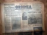 ZIAR VECHI - ORDINEA - 6 FEBRUARIE