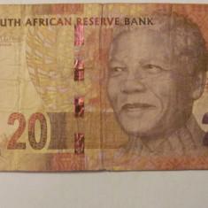 CY - 20 rand 2014 Africa de Sud / Nelson Mandela