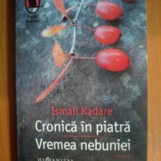CRONICA IN PIATRA, VREMEA NEBUNIEI de ISMAIL KADARE - Roman
