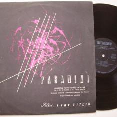 Disc vinil PAGANINI - Concertele pentru vioara si orchestra 1 si 2 ST - ECE 0855 - Muzica Clasica electrecord