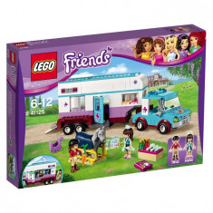 Lego Friends Rulota Veterinara Pentru Cai L41125