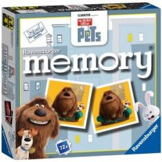 Joc Mini Memory - Viata Secreta A Animalelor Ravensburger