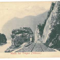 1867 - Valcea, CALIMANESTI, Masa lui Traian - old postcard - unused - Carte Postala Oltenia 1904-1918, Necirculata, Printata