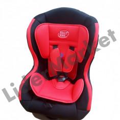 Scaun auto pentru bebelusi pe albastru sau rosu, 0+ -1 (0-18 kg), Isofix