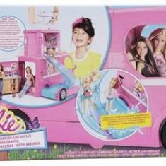 Jucarie Barbie Pop-Up Camper Vehicle Doll - Papusa Mattel