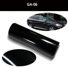 Folie auto PREMIUM negru lucios 1m X 1.52m