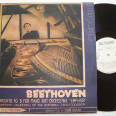 Disc vinil BEETHOVEN - Concertul Nr. 5, LI MINGQIANG - pian (ST - ECE 02191) - Muzica Clasica electrecord