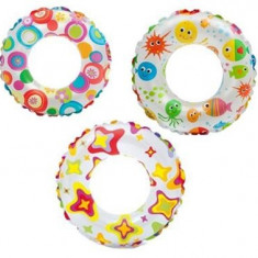 Colac Copii Bazin Intex Lively Print Swim Rings