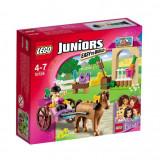 Lego Juniors Trasura Cu Cai A Stephaniei L10726