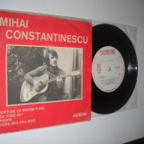 MIHAI CONSTANTINESCU (& Perpetuum Mobile)-vinil EP cu 4 piese, raricel ! (1974), electrecord