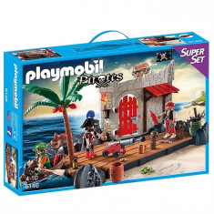 Super Set - Insula Piratilor Playmobil
