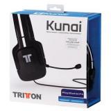 Casti Gaming Tritton Kunai Ps4/Ps3/Psp/Ps Vita Negru