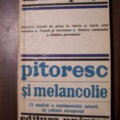 Pitoresc si melancolie - Andrei Plesu (prima editie, 1980, cu autograf) - Filosofie