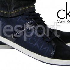 Adidasi Tenesi - Calvin Klein - Model Casual - Model NOU - Pret special - - Adidasi barbati Calvin Klein, Marime: 40, 41, 42, 43, 44, Culoare: Din imagine, Textil
