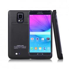 Husa 4800 mah acumulator negru Samsung Galaxy Note 4 N910 F / N910 H 4800 mAh, Plastic
