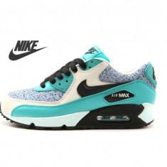 Nike AIR MAX AIRMAX 90 Dama/Women Crem-Turcoaz. NEW COLLETION! - Adidasi dama Nike, Culoare: Din imagine, Marime: 37.5, 38, 39