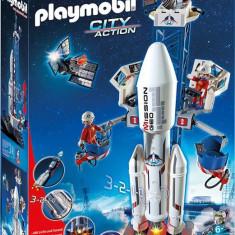 Racheta Spatiala Cu Statie De Lansare Playmobil