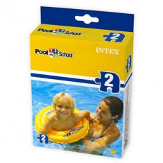 Colac Copii Bazin Intex 51Cm School Step 2 Deluxe Swim Ring Pool