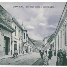 1759 - Caras, ORAVITA - old postcard - used - 1911 - Carte Postala Banat 1904-1918, Circulata, Printata