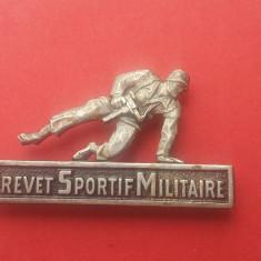 Insigna militara-RARA!-45mm-BREVET SPORTIF MILITAIRE-OFERTA!!!, Europa